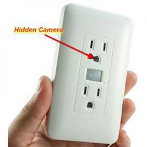 پریز دوربین دار مخفی