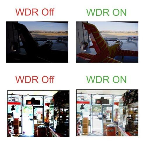 قابلیت WDR در دوربین مداربسته