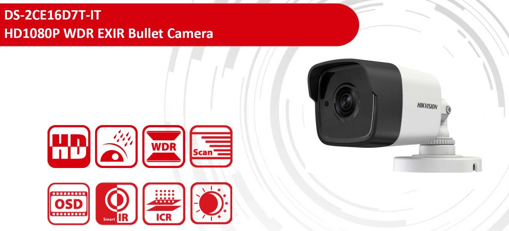 انواع دوربین 2 مگاپیکسلی بولت Turbo hd هایک ویژن